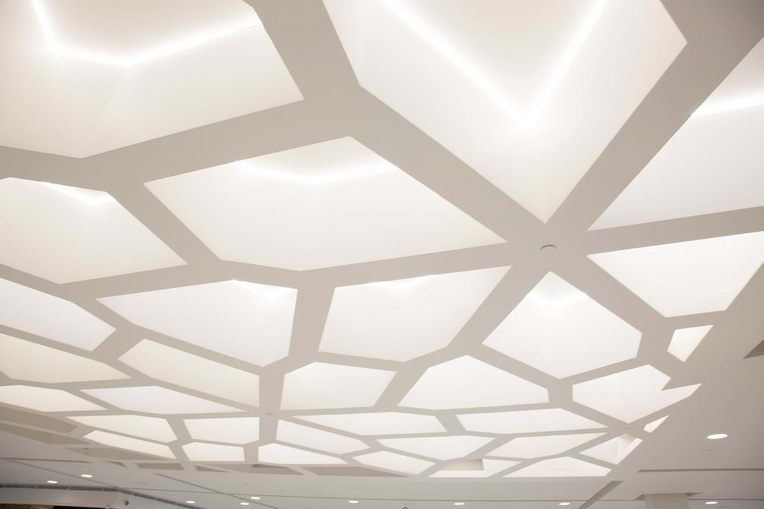 Honeycomb Feature Ceiling